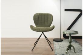 Billedet viser en OMG spisebordsstol i farven Green.