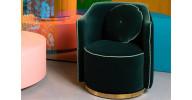 Sassy Granny lounge stol - Mørkegrøn
