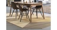 Harmony gulvtæppe - Brun