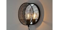 Lea væglampe - Sort