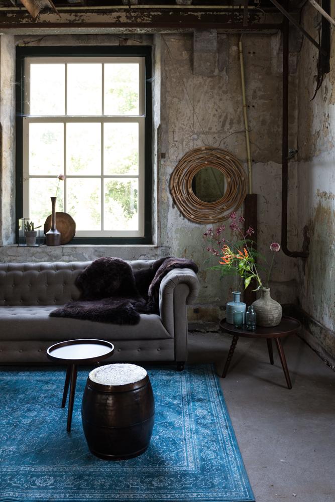 Smuk indretning med tæppe hos BoShop.
