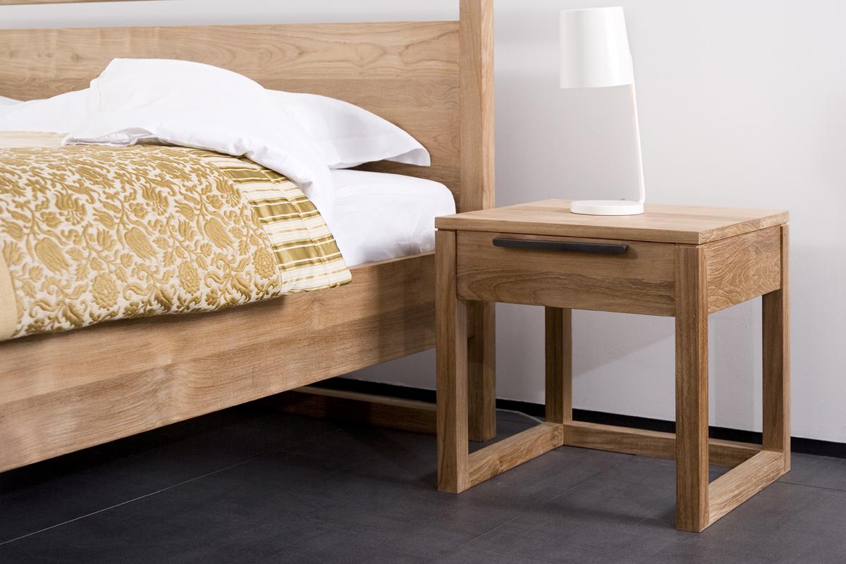 Indret dit soveværelse med et eller to flotte og praktiske natborde.