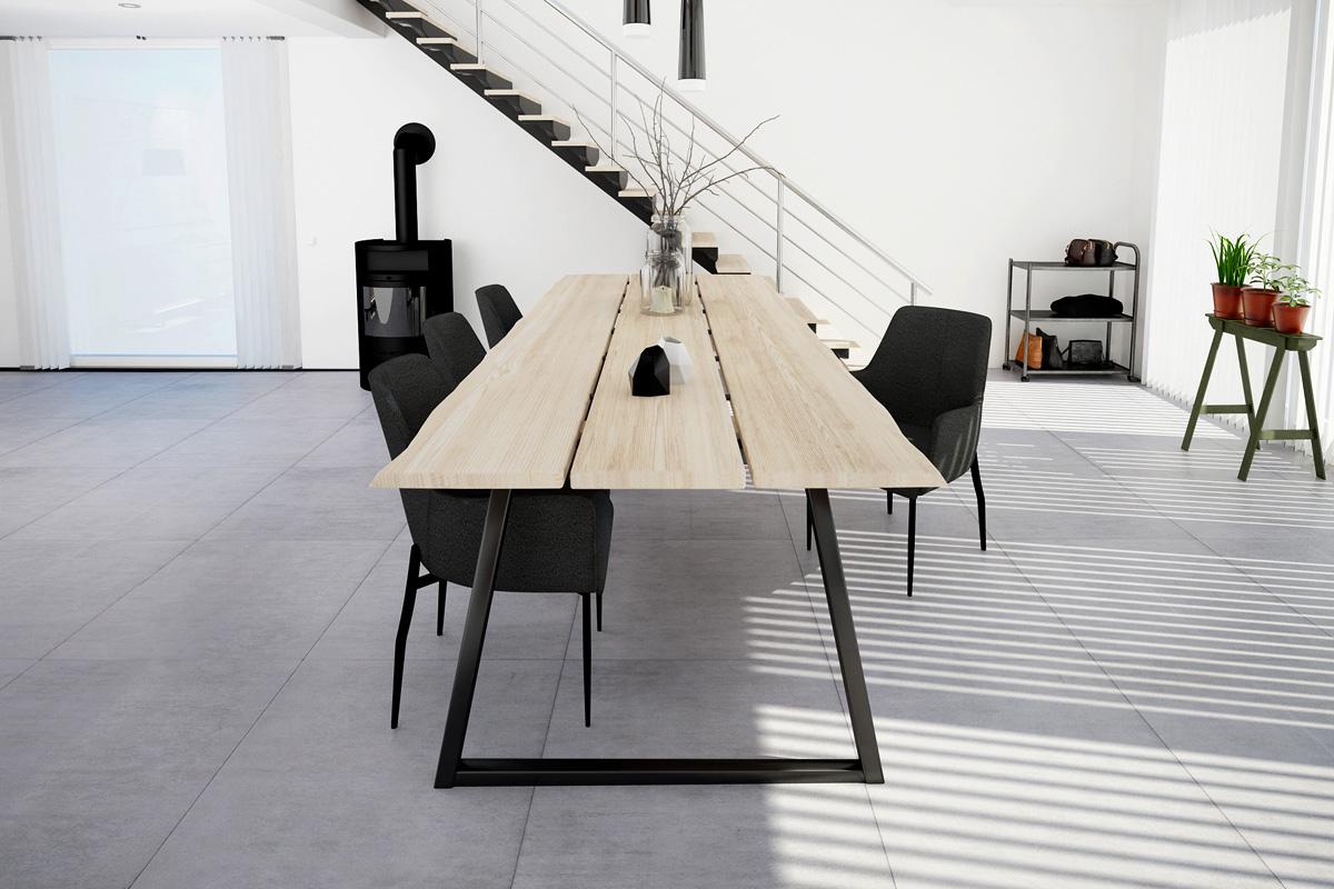 Du kan selv designe dit eget DIY plankebord med Forest plankebordet og spisebordet.