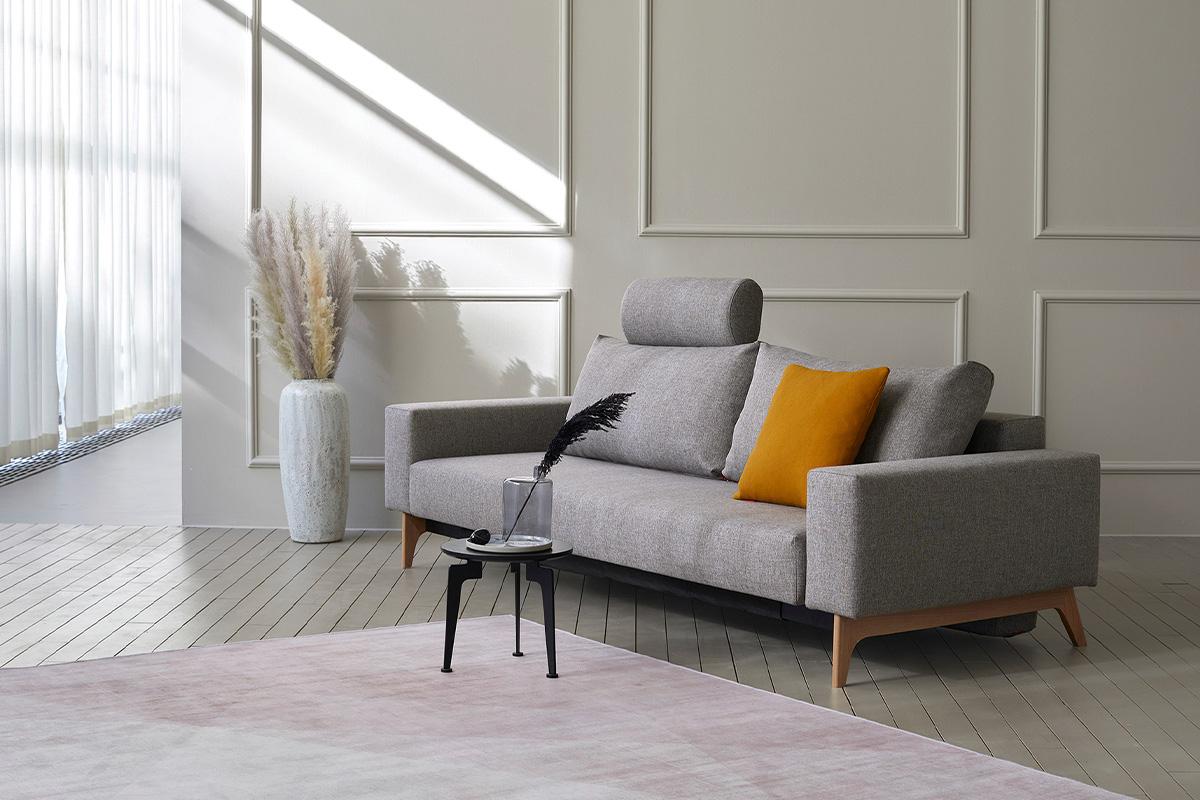 Smuk indretning med sovesofa hos BoShop.