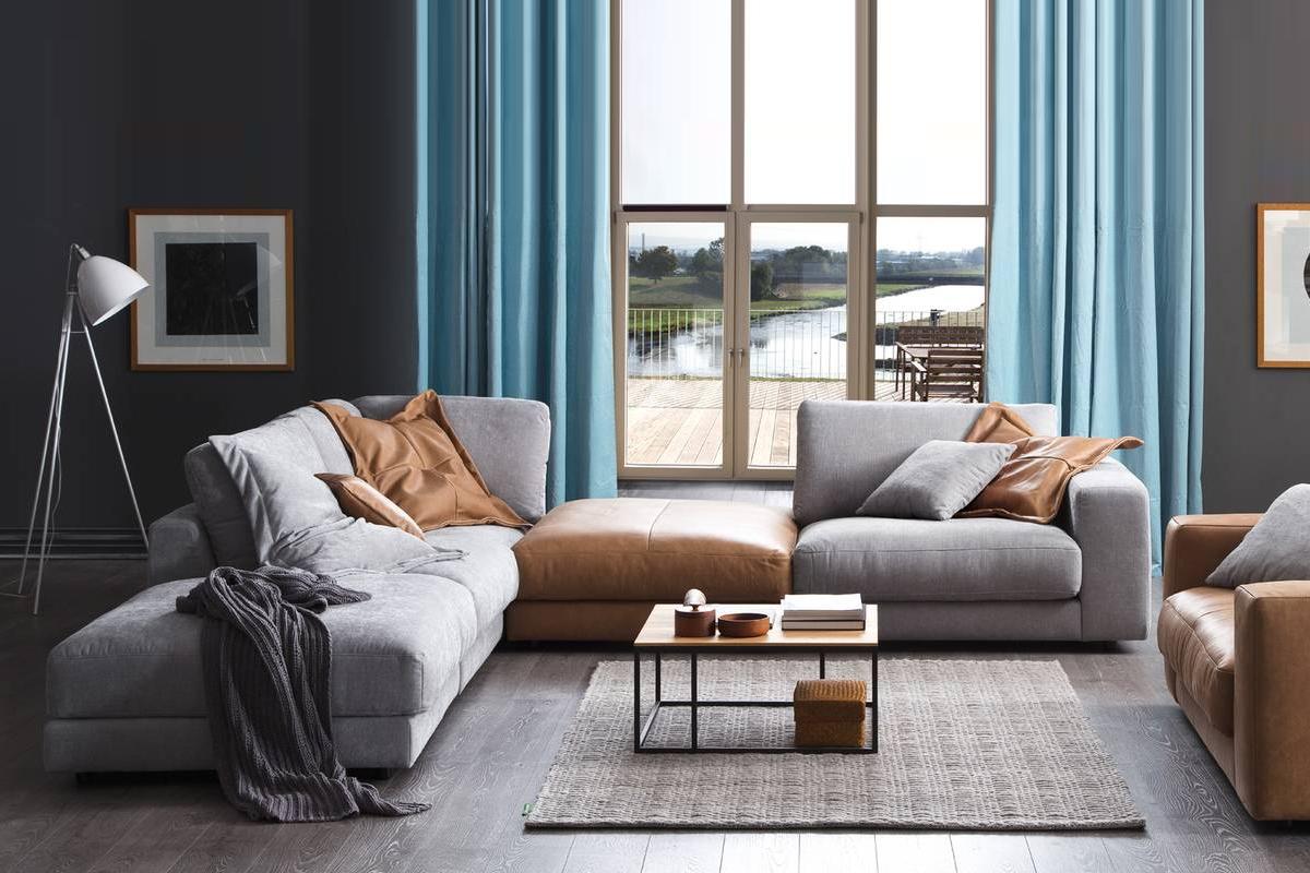 Flot og moderne sofa.