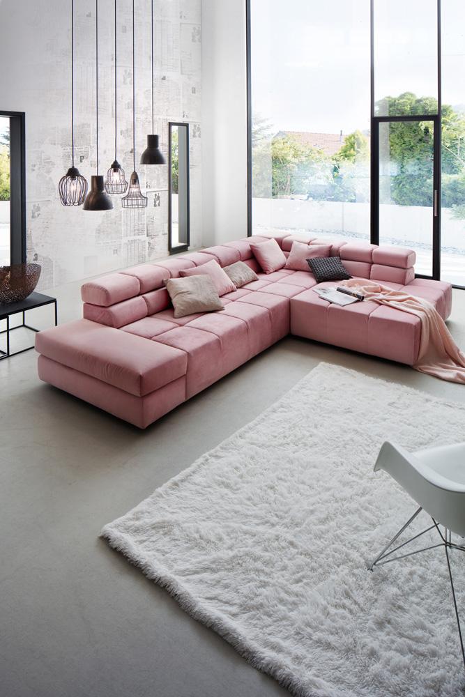 Dette er et billede af en sofa med sofastof hos BoShop.