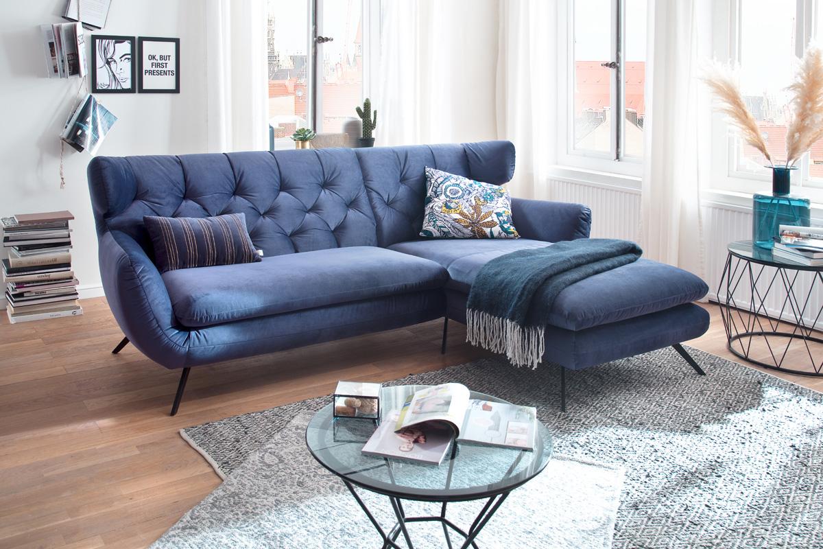 Flot klassisk retro sofa hos BoShop.