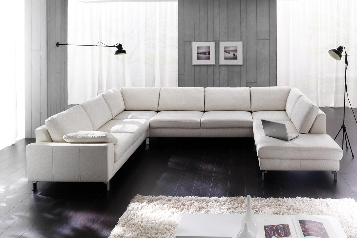 Med Interflexo sofaen fra BoShop, kan du forlænge denne sofa så lang, som du har lyst til med den store fleksibilitet.