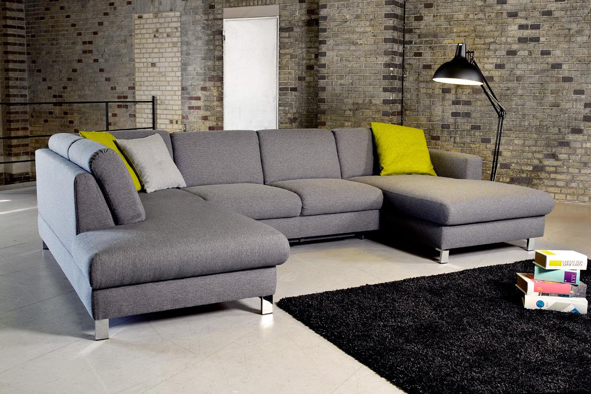 Loreno sofa var en sofa med chaiselong hos BoShop