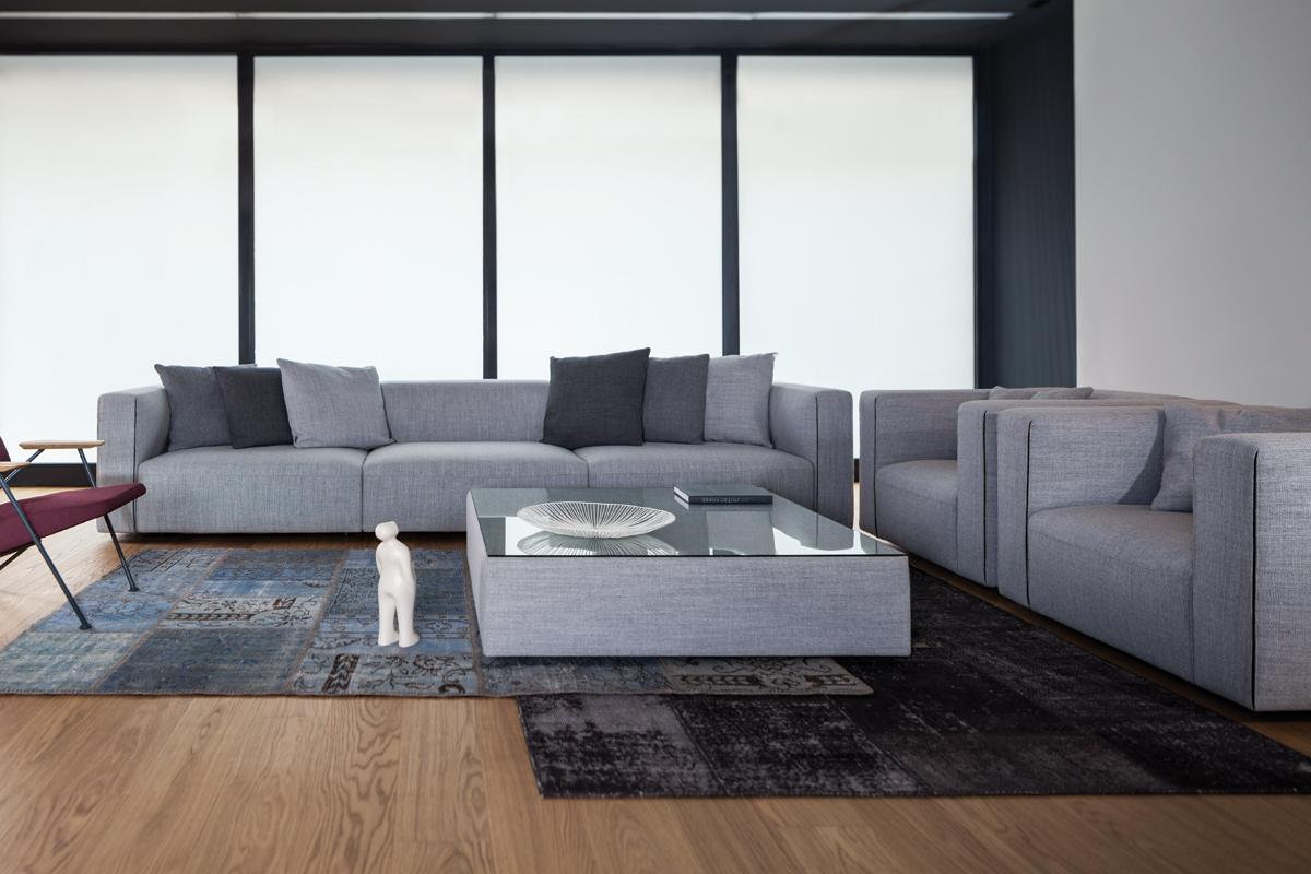 Du kan sammensætte din helt egen sofa også i de store sofa størrelser.