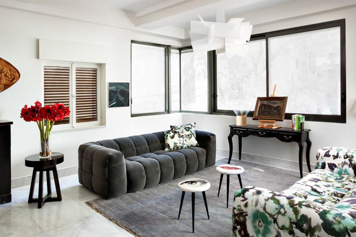 Stilfuld sofa hos BoShop.