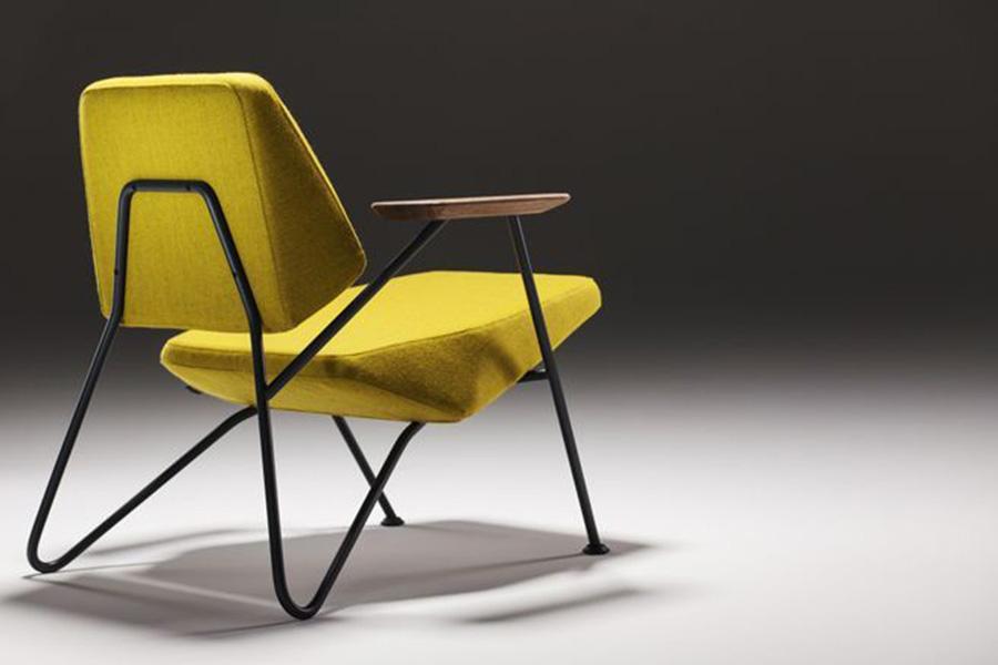Den billige lænestol med navnet Polygon ses her på dette billede.