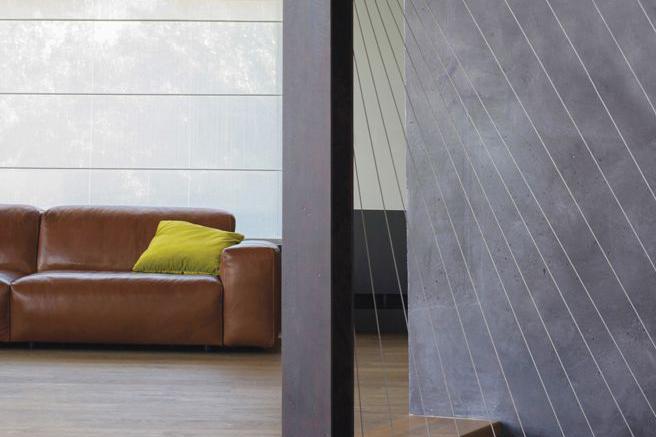 Her ses en international stil i boligen med Cloud lædersofaen, som du kan købe hos BoShop.