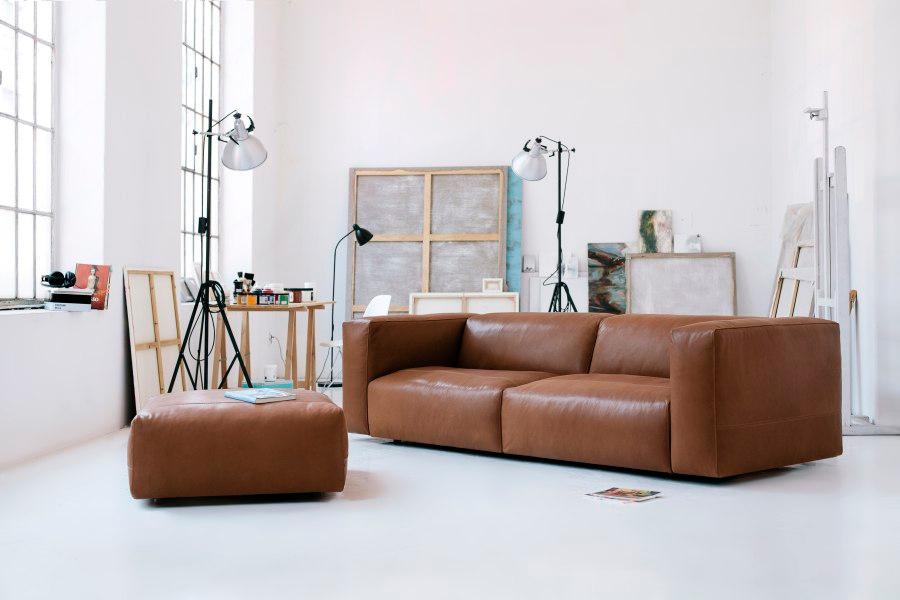 Smuk indretning med sofa hos BoShop.