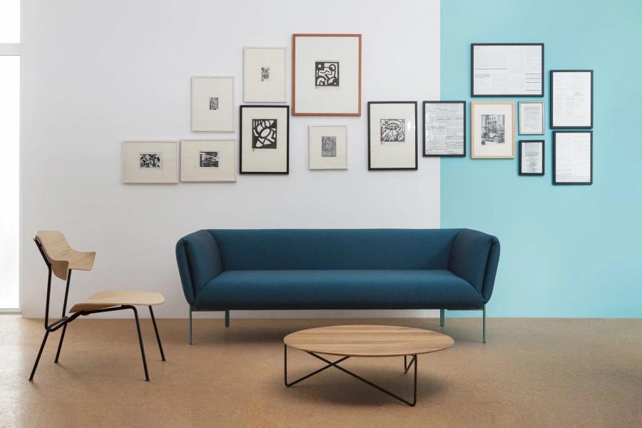 Elegant og komfortabel sofa.