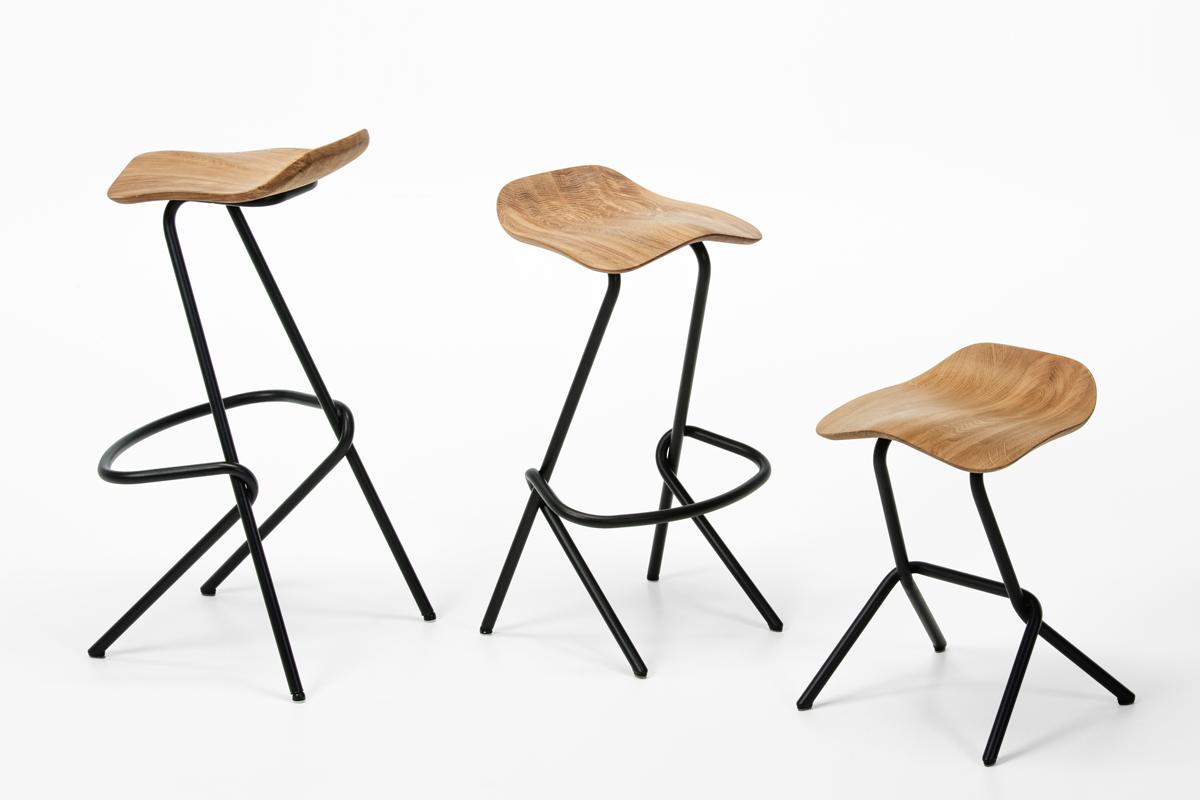 Den lave barstol som et afslappet alternativ til spisebordsstole.