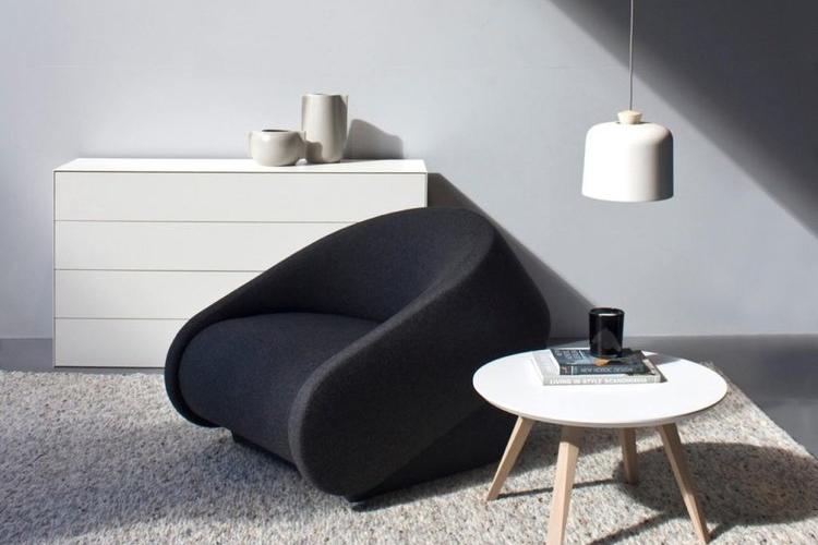 Lounge stolene er skabt i kombination med et stilrent design og en høj kvalitet i materialerne.