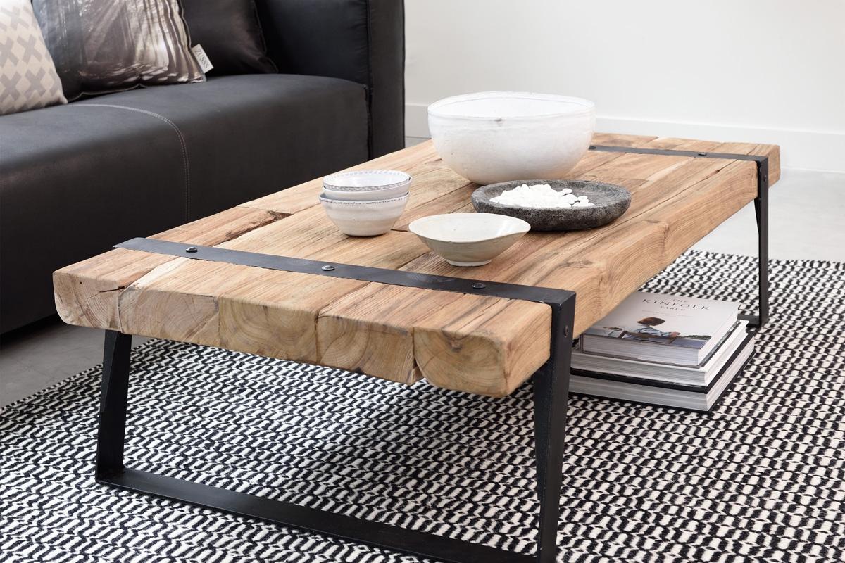 Smuk indretning med sofabord hos BoShop.