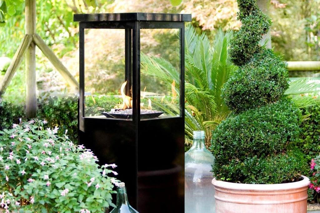 Med en terrassevarmer kan du opholde dig længere tid uden for på din terrasse.