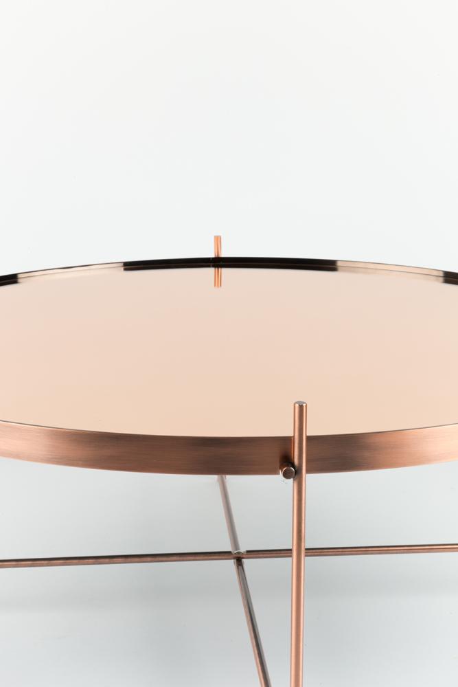 Moderne runde sofaborde er både smukke og elegante på samme tid.