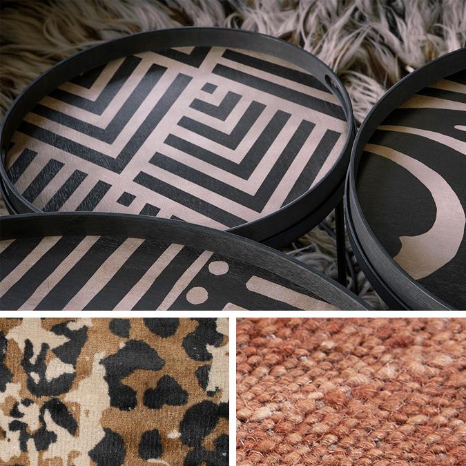 Indret dig med et præg af noget afrikansk i din indretning derhjemme for at skabe varme og personlighed.