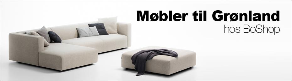Møbler til Grønland - Sådan køber du møbler hos BoShop